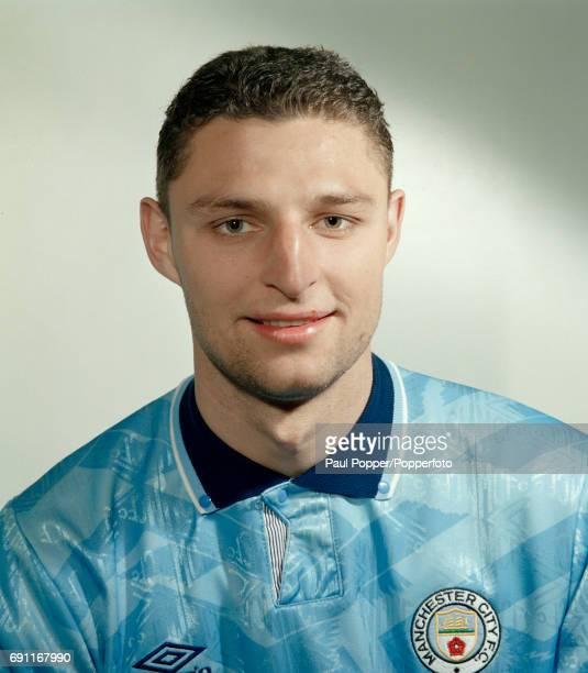 Manchester City footballer Michel Vonk circa August 1992