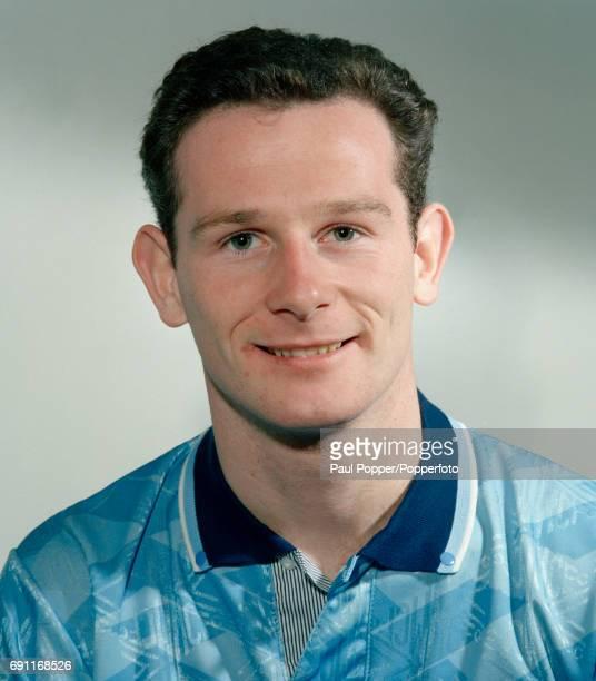 Manchester City footballer Mike Sheron circa August 1992