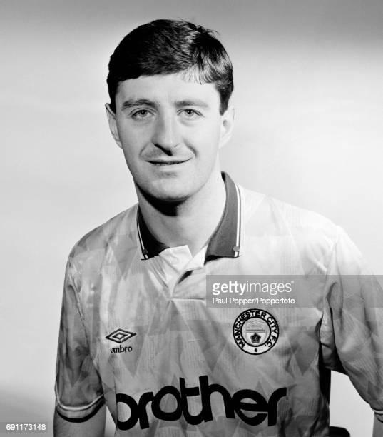 Manchester City footballer Wayne Clarke circa August 1990