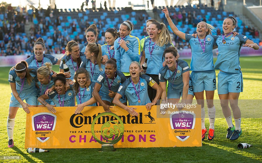 Manchester City Women v Birmingham City Ladies - Continental Cup Final : News Photo