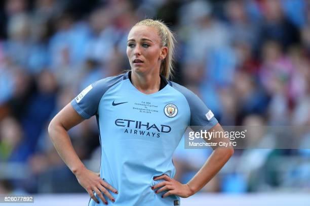 Manchester City Women's Toni Duggan in the game against Birmingham City Ladies