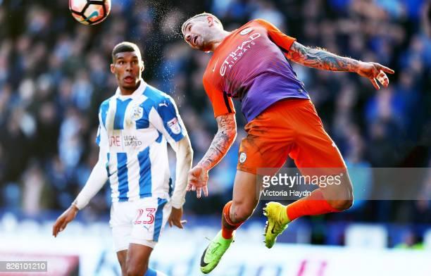 Manchester City's Aleksandar Kolarov during the match