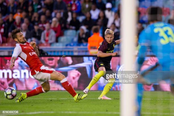 Manchester City's Alex Zinchenko