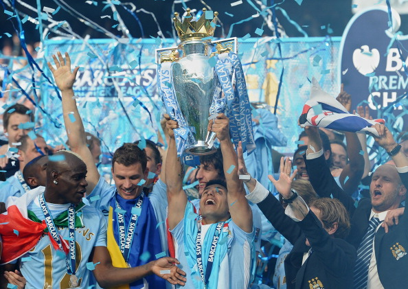 Manchester City's Argentinian striker Se : News Photo