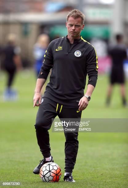 Manchester City's assistant coach Alan Mahon