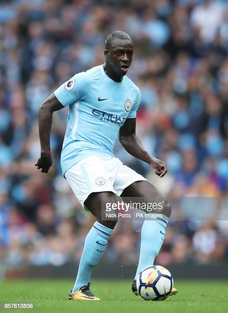 Manchester City's Benjamin Mendy