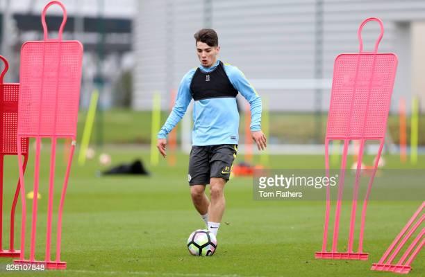Manchester City's Brahim Diaz in training