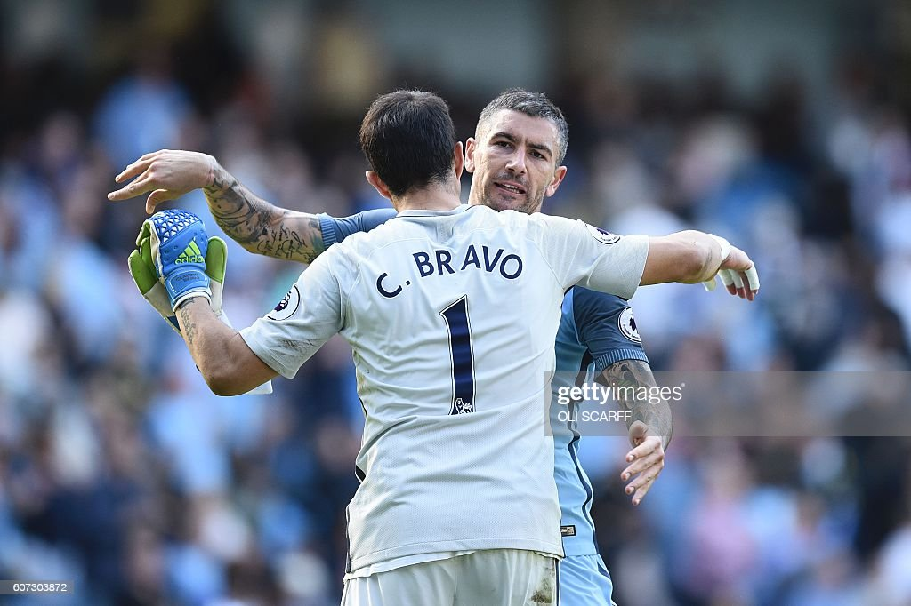 FBL-ENG-PR-MAN CITY-BOURNEMOUTH : News Photo