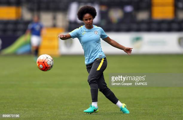 Manchester City's Demi Stokes