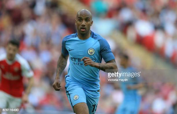 Manchester City's Fabian Delph in action