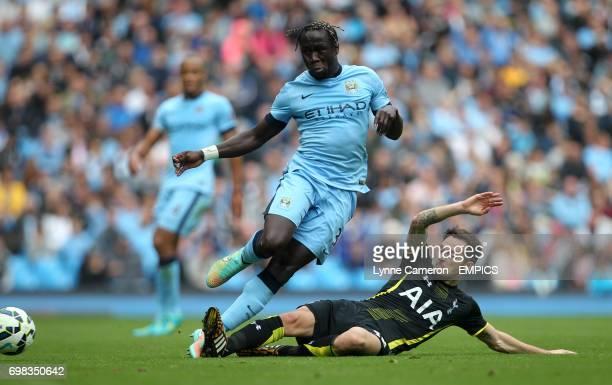 Manchester City's Gael Clichy and Tottenham Hotspur's Federico Fazio