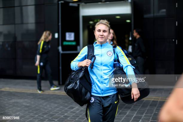 Manchester City's Izzy Christiansen ahead of the FA Cup Final