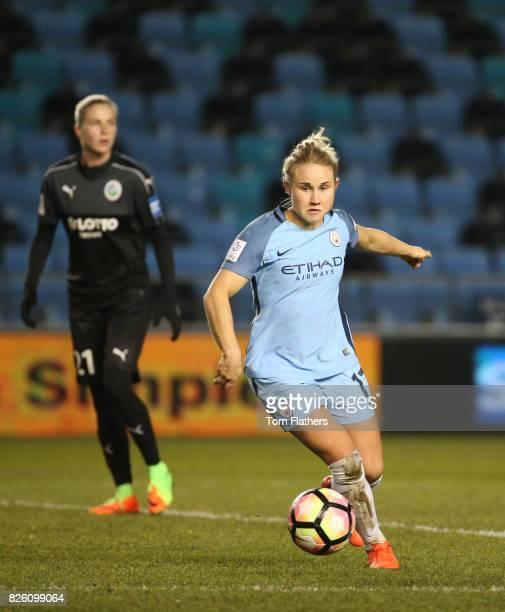 Manchester City's Izzy Christiansen in action