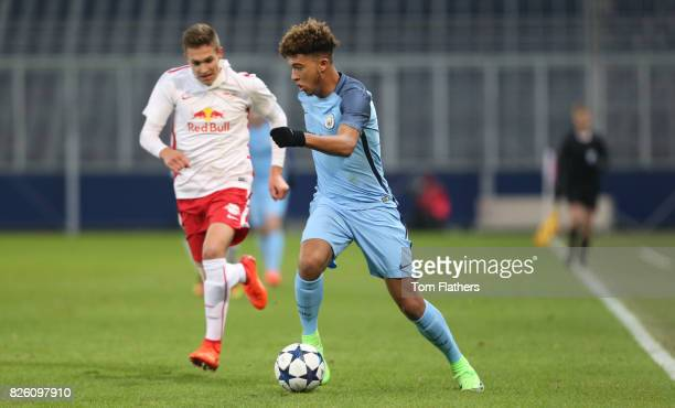Manchester City's Jadon Sancho in action