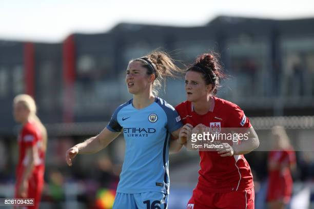Manchester City's Jane Ross in action against Bristol City