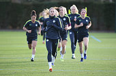 GBR: Manchester City Women Training Session