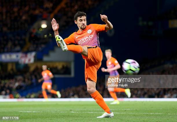 Manchester City's Jesus Navas in action