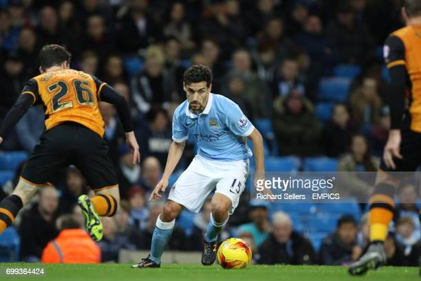 Manchester City's Jesus Navas