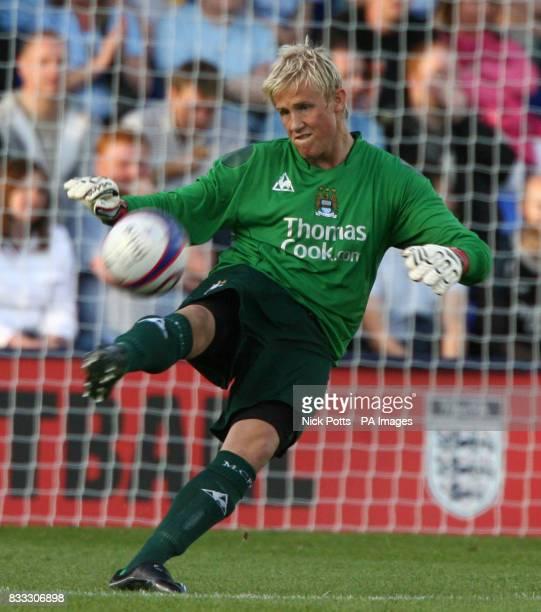 Manchester City's Kasper Schmeichel