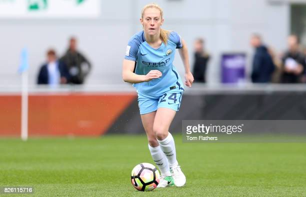 Manchester City's Keira Walsh in action against Liverpool