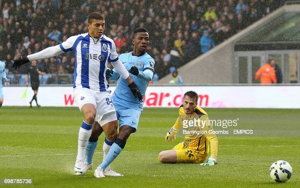 Manchester City's Kelechi Iheanacho scores against Porto