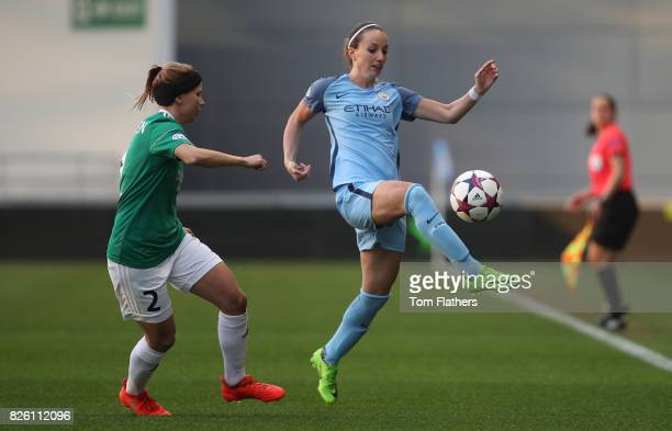 Manchester City's Kosavare Asllani in action