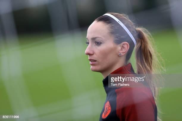 Manchester City's Kosavare Asllani in training