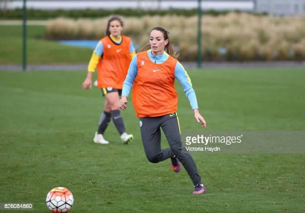Manchester City's Kosovare Asllani during training