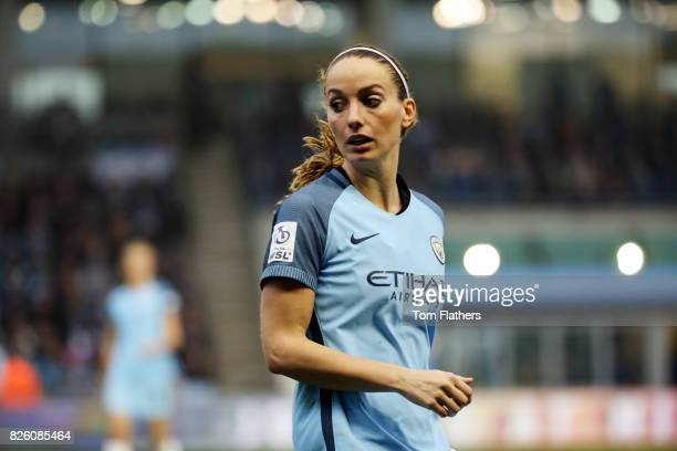 Manchester City's Kosovare Asllani in action against Birmingham in the Women's Super League