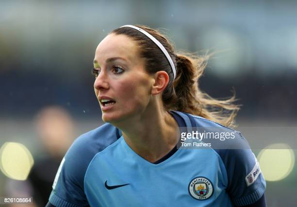 Manchester City's Kosovare Asllani in action against Reading