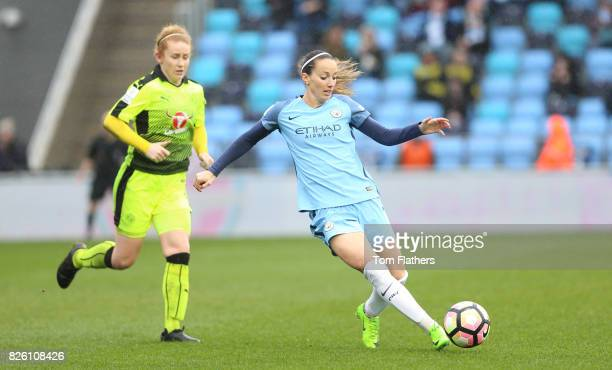 Manchester City's Kosovare Asllani in action