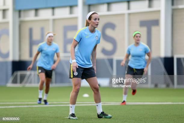 Manchester City's Kosovare Asllani in training