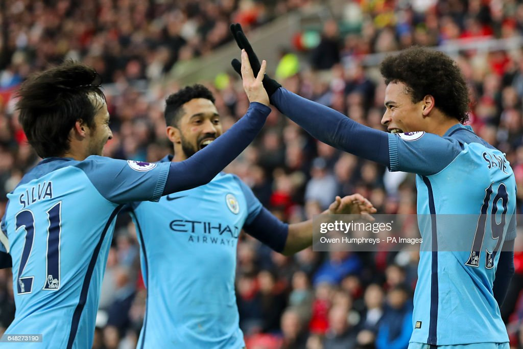 Sunderland v Manchester City - Premier League - Stadium of Light : News Photo