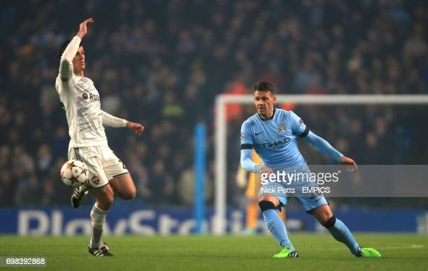 Manchester City's Martn Demichelis in action
