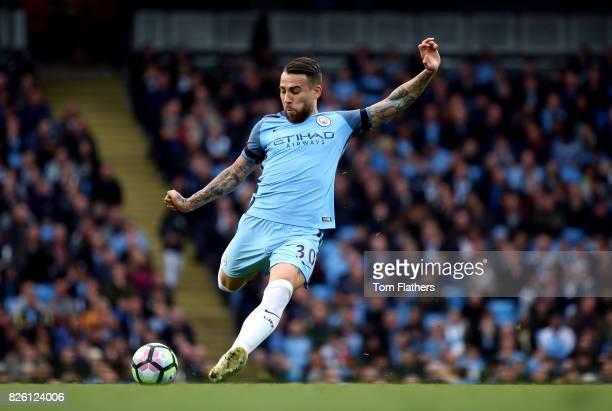 Manchester City's Nicolas Otamendi