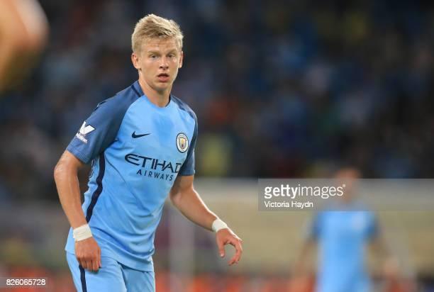 Manchester City's Oleksander Zinchenko in action