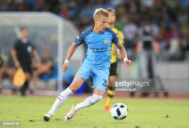 Manchester City's Oleksander Zinchenko
