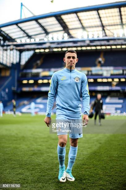 Manchester City's Phil Foden ahead of the FA Youth Cup Final
