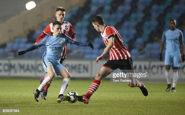 Manchester City's Phil Foden in action against Southampton