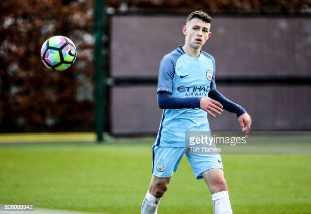 Manchester City's Phil Foden in action against Sunderland