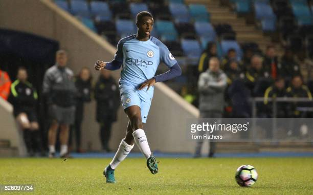 Manchester City's Rodney Kongolo in action against Sunderland