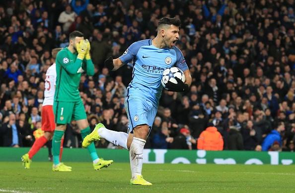 Manchester City FC v AS Monaco - UEFA Champions League : News Photo