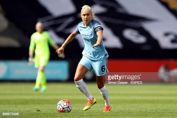 Manchester City's Steph Houghton