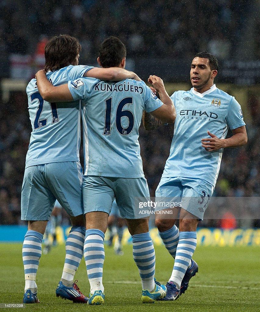 Manchester City s strikers David Silva