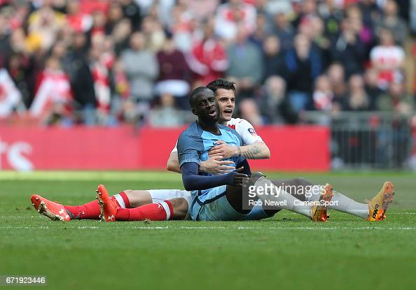 Arsenal v Manchester City - The Emirates FA Cup Semi-Final : ニュース写真