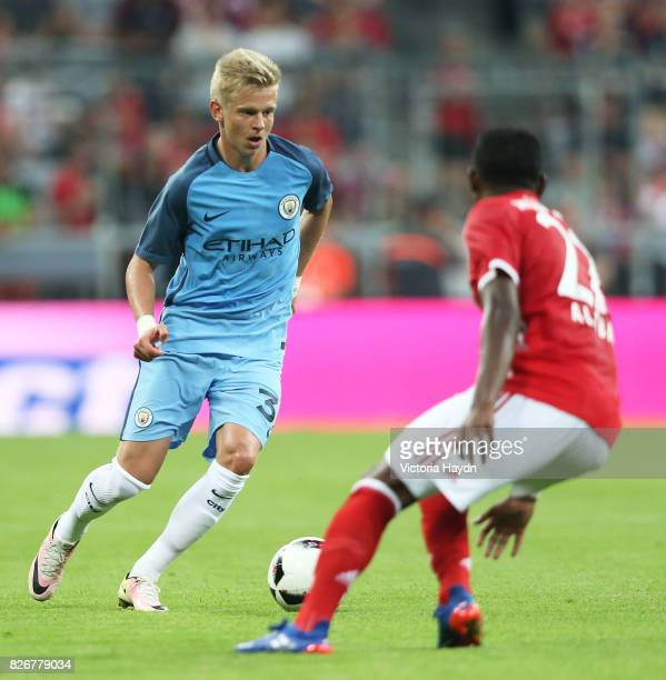 Manchester City's Zinchenko in action