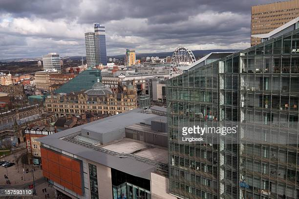 Le centre-ville de Manchester