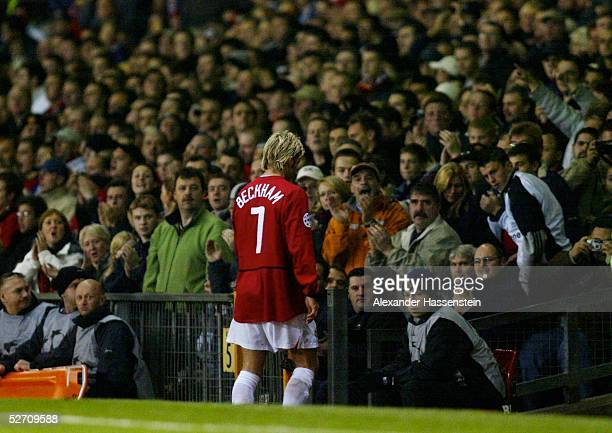 LEAGUE 02/03 Manchester MANCHESTER UNITED BAYER 04 LEVERKUSEN 20 David BECKHAM/MANCHESTER