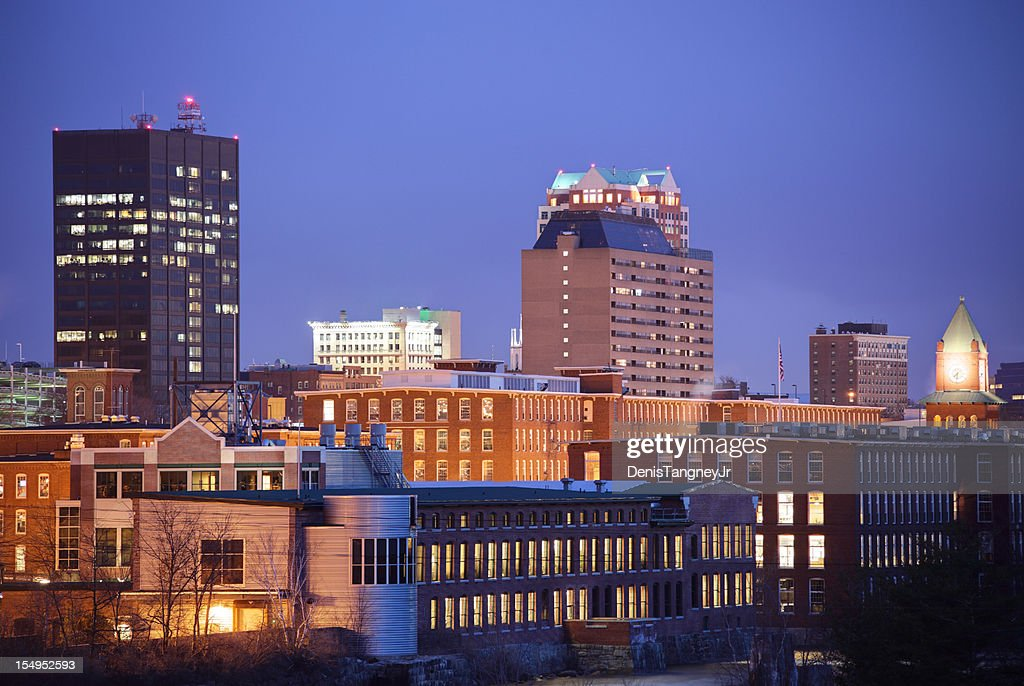 Manchester, New Hampshire Cityscape