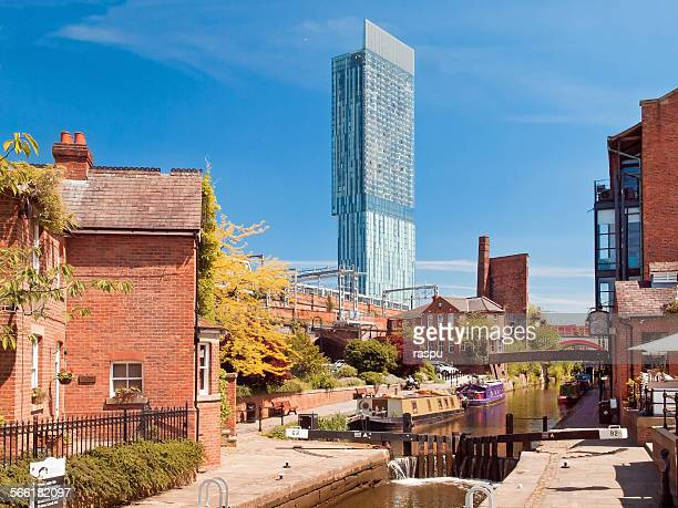 Manchester, Rochdale Canal at Castlefield